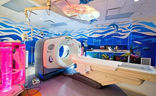 Design d'intérieur - Services pédiatrie - Houston