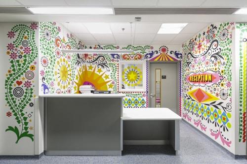 Design d'intérieur - Services pédiatrie - Londres
