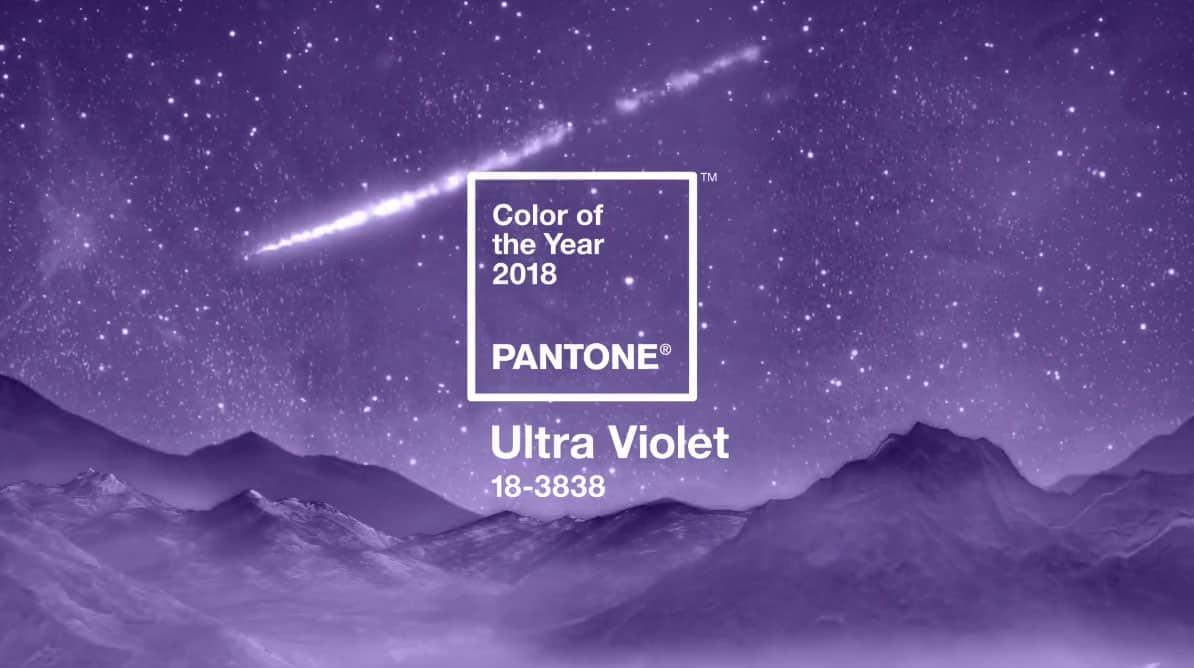 Intégrez la couleur Ultra Violet dans votre signalétique